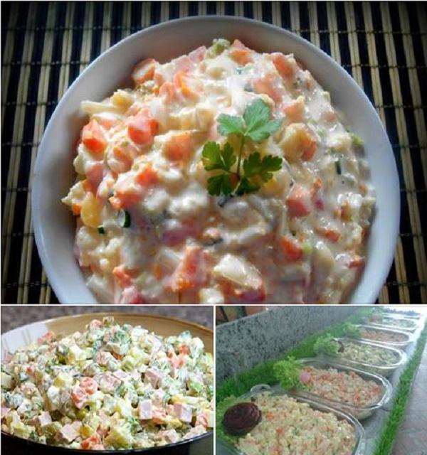 Como Fazer Salada Tradicional de Maionese
