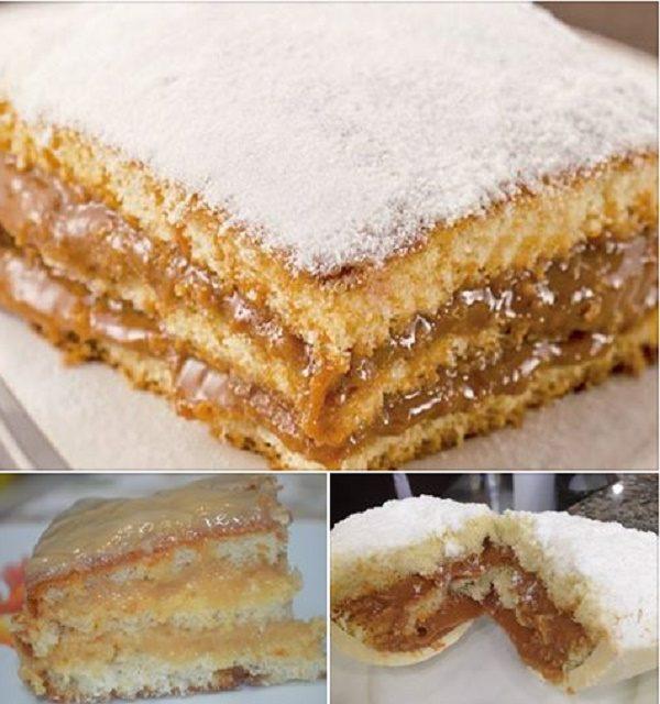 Como fazer bolo bem casado.