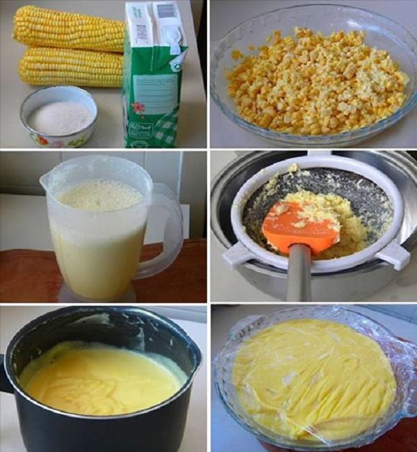 Receita de Suco de Milho Verde Cremoso
